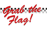 Logo Grab the Flag