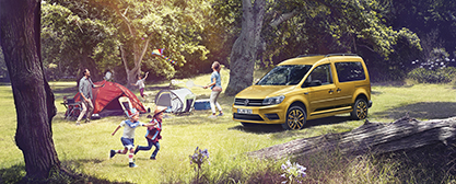 VW Caddy Family - das Multitalent - Foto: Volkswagen