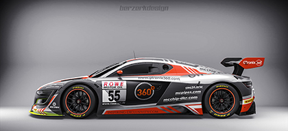 Neues Team in der VLN: GTronix-mcchip-dkr
