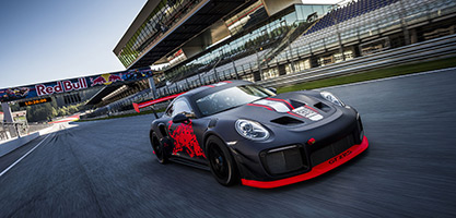 RBR Porsche 911 GT2 RS Clubsport V Philip Platzer Red Bull Content Pool