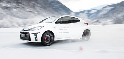 Toyota GR Yaris Winter Drift Training
