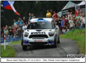 Barum Czech Rally Slin, Lauf zur ERC 2014