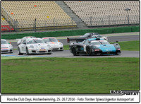 Porsche Club Days, Hockenheimring 2014