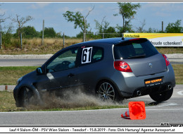Polizeimotorsport Slalom 2019